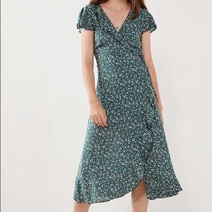 Kimchi Blue midi wrap dress